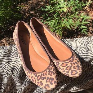 Lucky Brand Leopard Flats